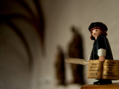 MARTINtage Lutherfigur in der Johanneskapelle - Foto: Johannes Hoffmann