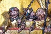 Ausschnitt aus dem Altar der Marienkirche, Foto Günther Gathemann