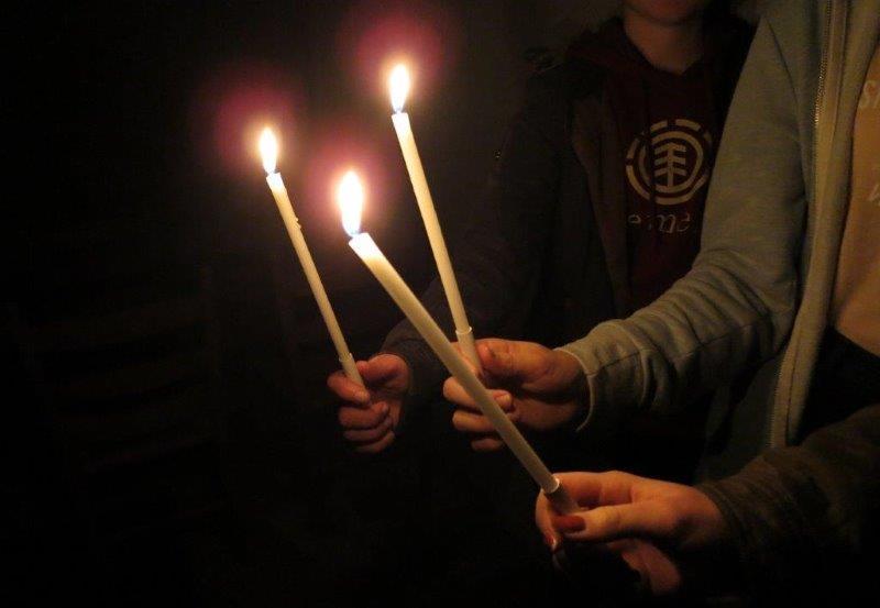 Foto zur Andacht Licht im Dunkel