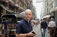 Jan-Philipp Sendker unterwegs in Yangon, Burma © Frank Suffert