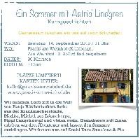 Ein Sommer mit Astrid Lindgren-Kinderlesung