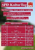 Plakat mit allen Informationen