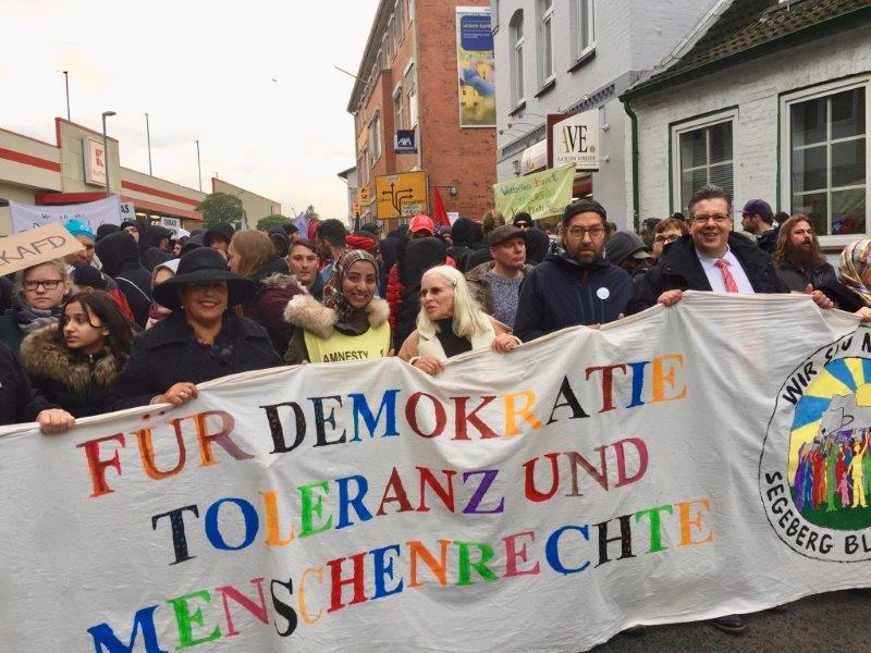 Foto der Demonstration am 9. November 2019