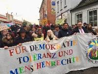 Foto der Demonstration am 9. November 2019