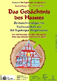 Plakat Dendro-Ausstellung
