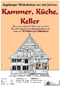 Plakat Kammer, Küche, Keller