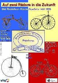 Ausstellungsplakat Radfahrervderein