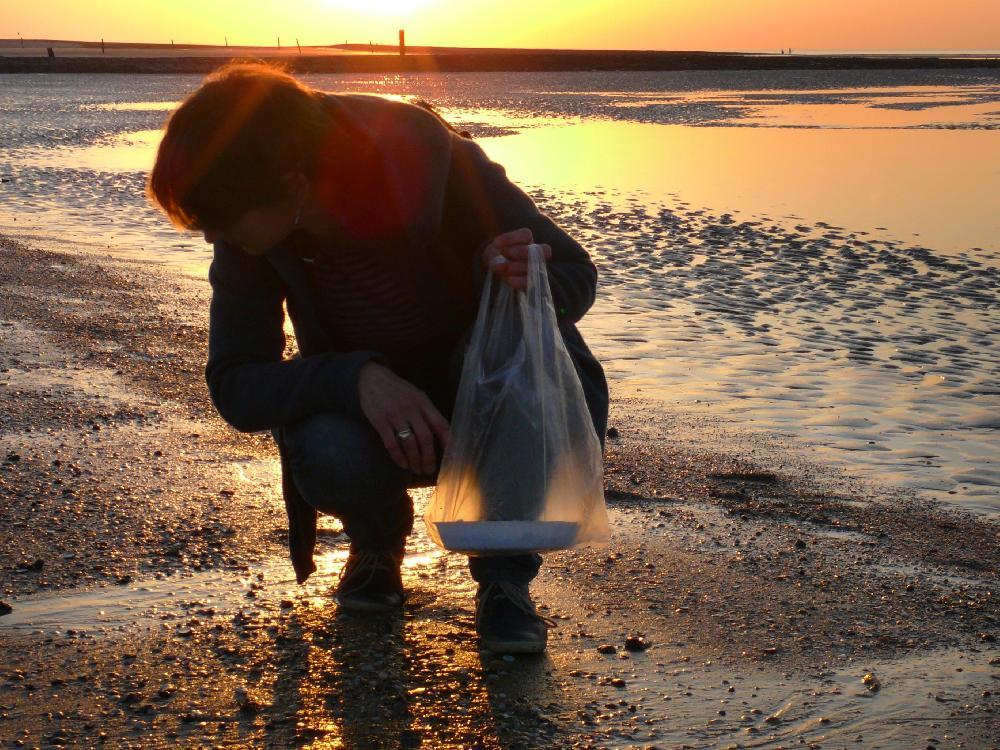 Strandspaziergänge sind wunderbar für mich und inspirierend...