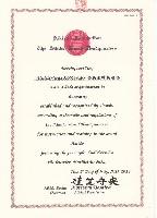 Urkunde Aikikai